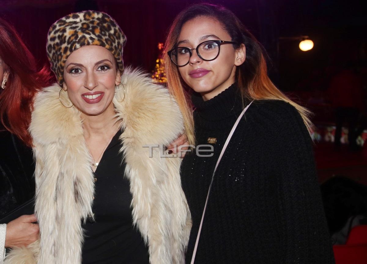 Ματθίλδη Μαγγίρα: Θεατρική βραδιά μαζί με την 17χρονη κόρη της, Λήδα!