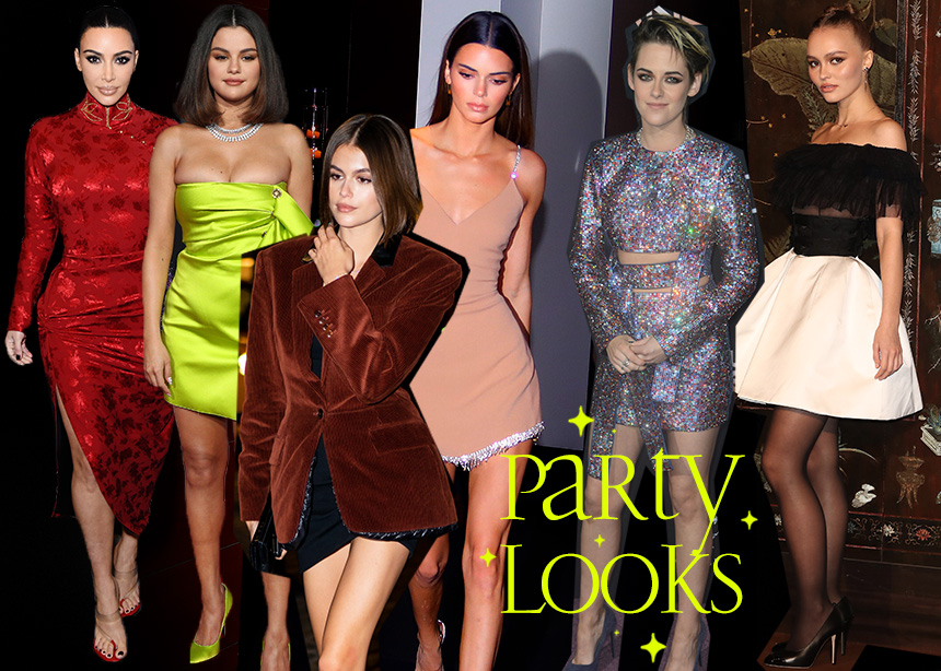 Oι πιο στιλάτες star σου δίνουν έμπνευση για τα party looks!