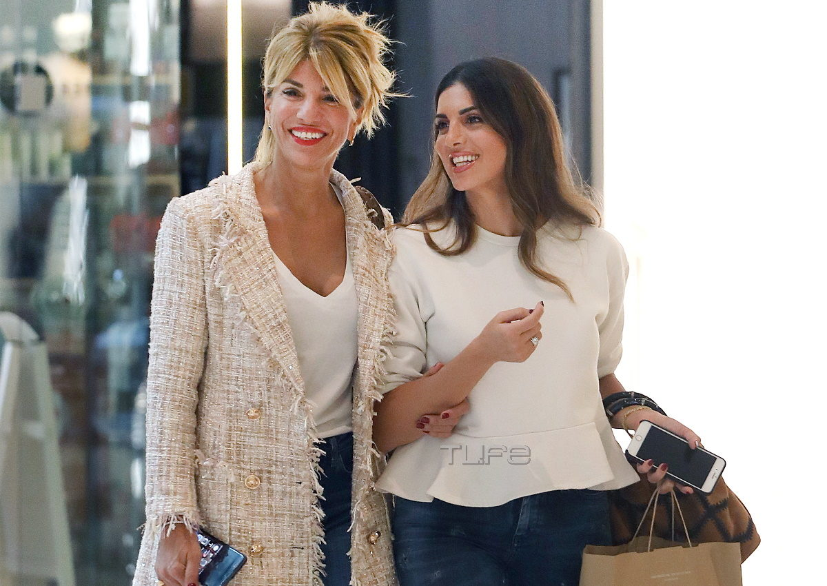 Σταματίνα Τσιμτσιλή: Η συνάντηση με τις κολλητές της στο Μαρούσι! Βγήκαν για ψώνια και… κους-κους [pics] | tlife.gr