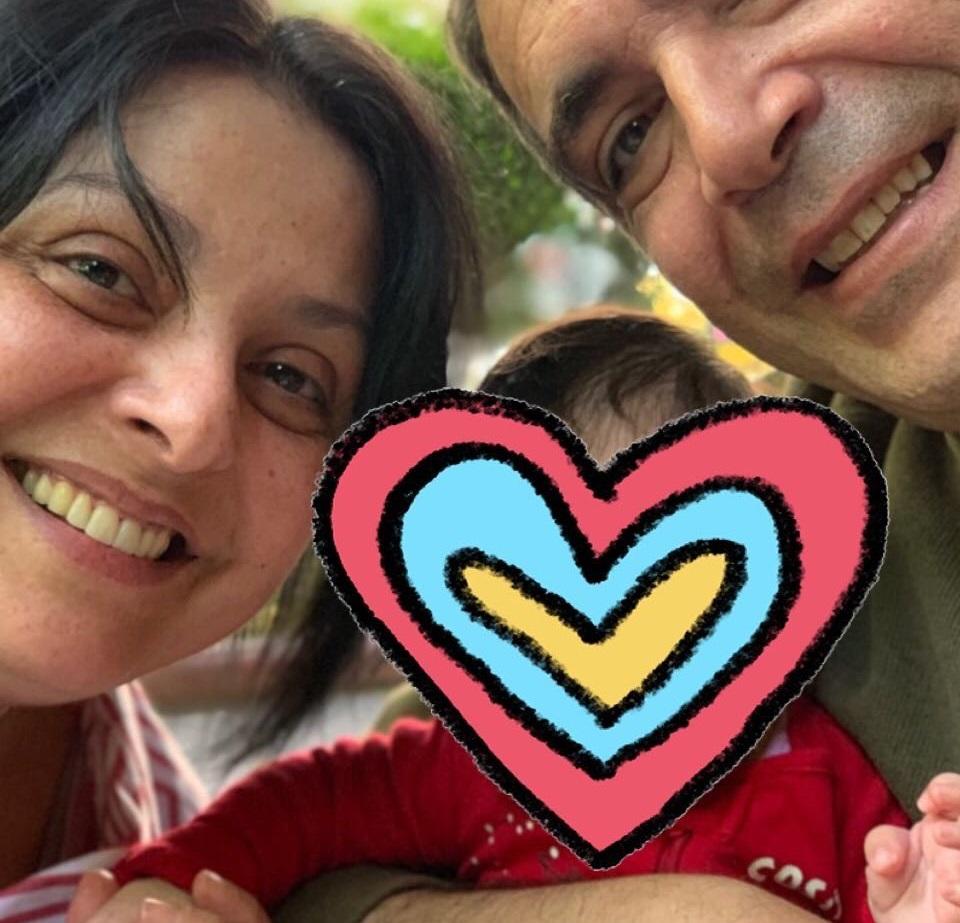 Βασιλική Ανδρίτσου: Η τρυφερή ανάρτηση για τον σύζυγό της και την κόρη τους! Video