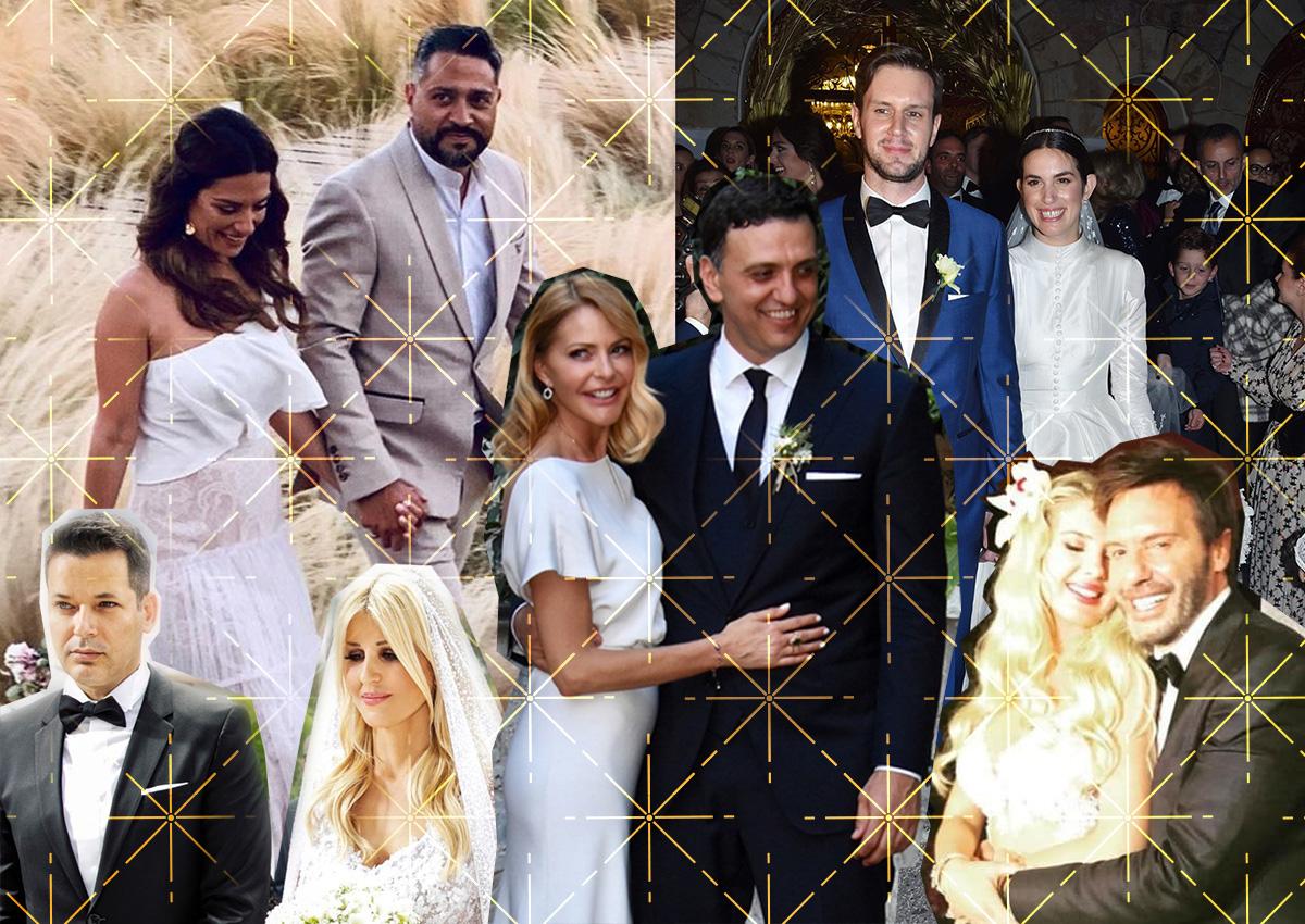 Οι λαμπέροι γάμοι του 2019: Οι celebrities που παντρεύτηκαν τη χρονιά που έφυγε! [pics]