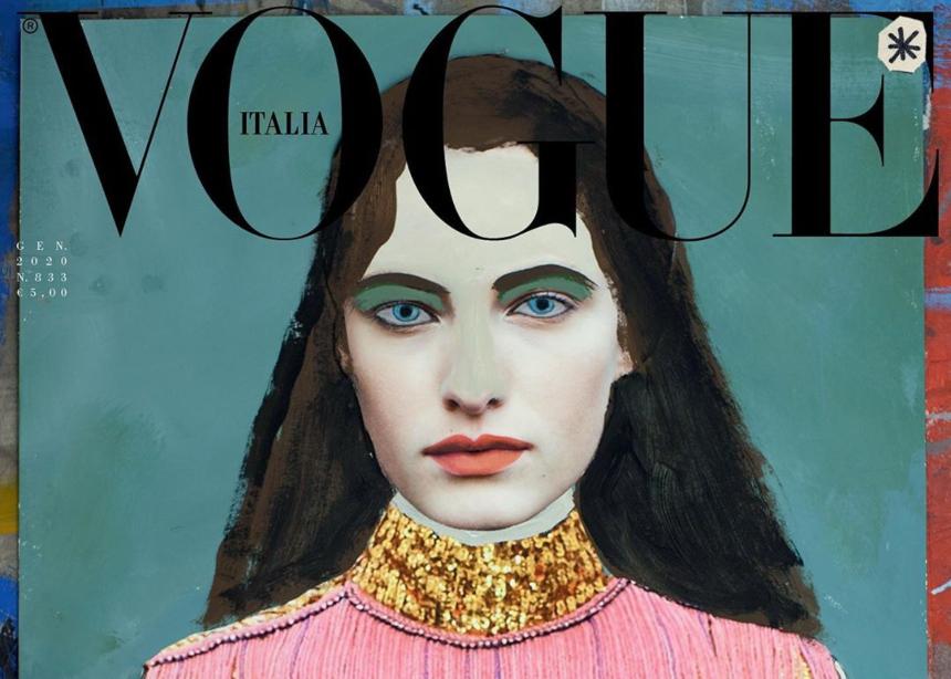 Η Ιταλική Vogue πρωτοπορεί και λανσάρει ένα τεύχος χωρίς καμία…φωτογραφία! | tlife.gr