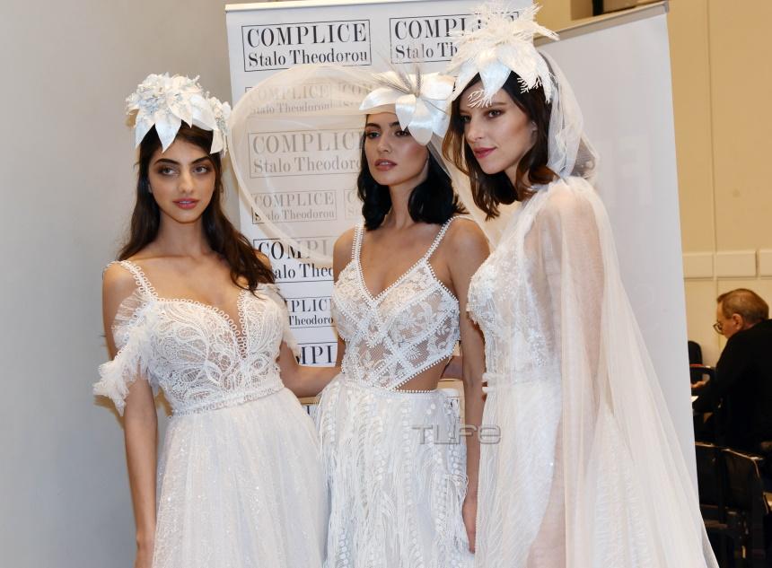 """Τα κορίτσια του GNTM ντύθηκαν… νυφούλες και εντυπωσίασαν στην """"Bridal Fashion Week 2020""""! Φωτογραφίες"""