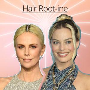 Πώς να καλύψεις την άβαφη ρίζα των μαλλιών σου (εκτός από το να βάλεις… διαμάντια όπως η Charlize Theron)!