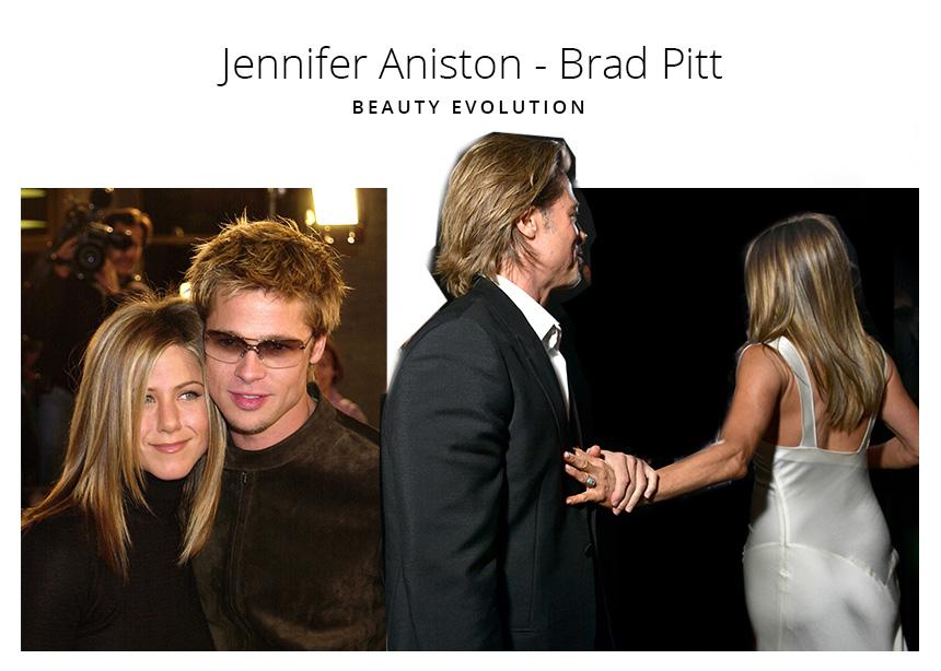 Jennifer Aniston- Brad Pitt: το beauty evolution του ζευγαριού που θέλουμε να δούμε ξανά μαζί!   tlife.gr
