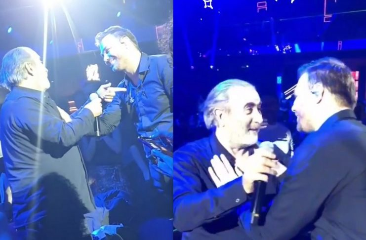 Λάκης Λαζόπουλος και Γιώργος Σαμπάνης σε μια μοναδική συνύπαρξη επί σκηνής! [video]
