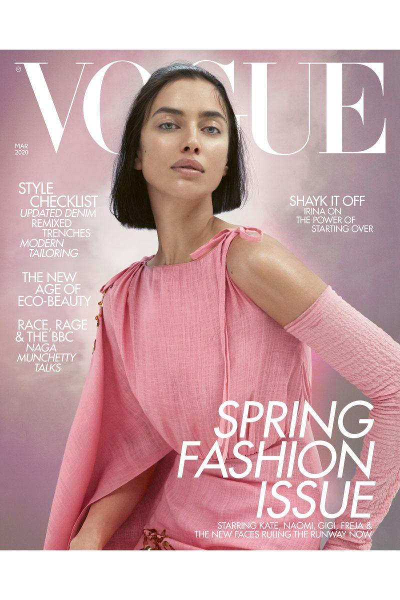Αυτές οι λάμψεις της Irina Shayk στο εξώφυλλο της Vogue ΔΕΝ είναι highlighter! Είναι αυτό το προϊόν! | tlife.gr