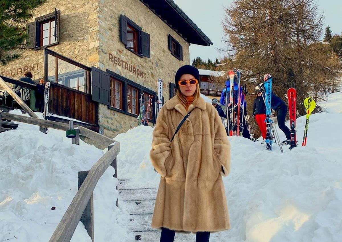 Ευγενία Νιάρχου: Για σκι στο St Moritz λίγο πριν το γάμο του αδελφού της Σταύρου Νιάρχου! [pics,vids]