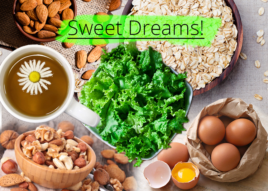 Θες να κοιμηθείς σαν… πουλάκι; Οι τροφές που θα σε βοηθήσουν!