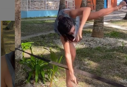 Xριστίνα Μπόμπα: Το βίντεο με το ατύχημά της στις Φιλιππίνες – Η πτώση και το χτύπημα στο χέρι!