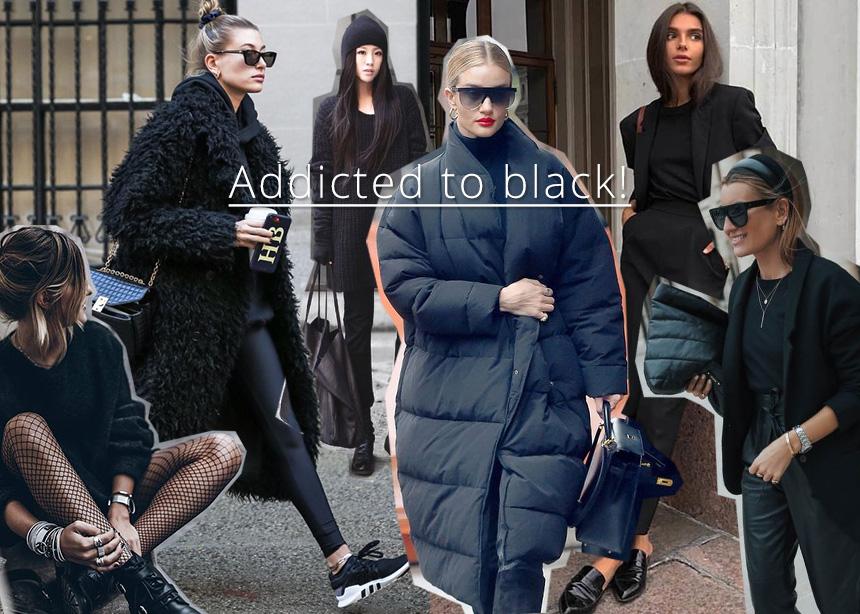 Styling tips για να αποκτήσουν ενδιαφέρον οι total black εμφανίσεις σου!