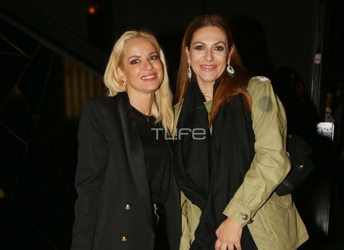 Μαρία Μπεκατώρου: Βραδινή έξοδος με φίλες και total black look! [pics] | tlife.gr