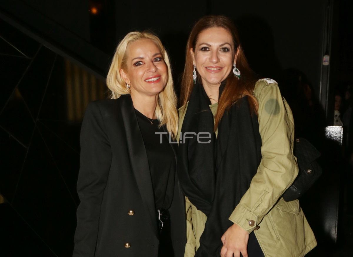 Μαρία Μπεκατώρου: Βραδινή έξοδος με φίλες και total black look! [pics]