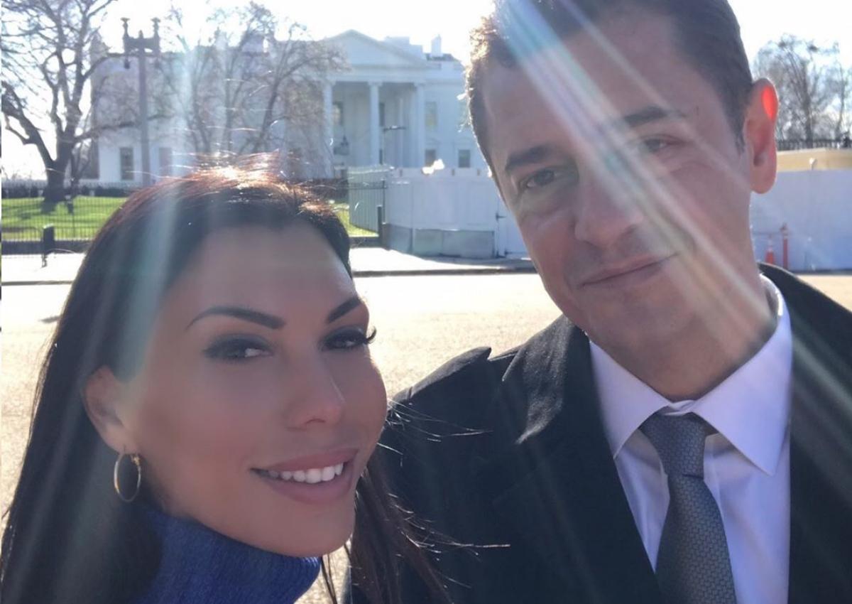 Αντώνης Σρόιτερ – Ιωάννα Μπούκη: Μαζί στο Λευκό Οίκο στην Ουάσινγκτον! [pics]