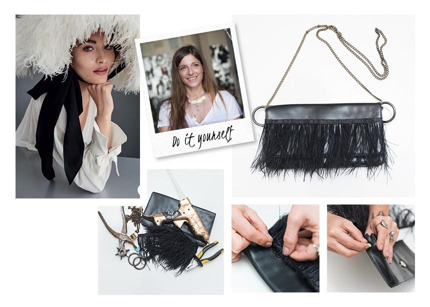 DIY: Πως θα μετατρέψεις ένα παλιό σου clutch σε stylish τσάντα με φτερά! | tlife.gr