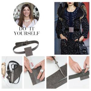 DIY: Φτιάξε μόνη σου την ζώνη που είδαμε στο catwalk του οίκου Louis Vuitton