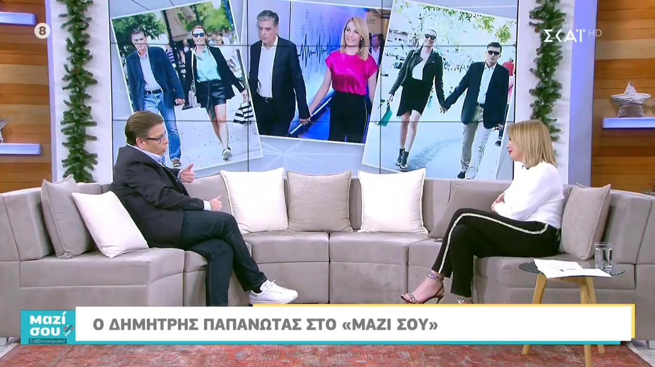 Μαζί σου Σαββατοκύριακο: Ο Δημήτρης Παπανώτας μιλάει ανοιχτά για τις τηλεοπτικές του κόντρες! [video]