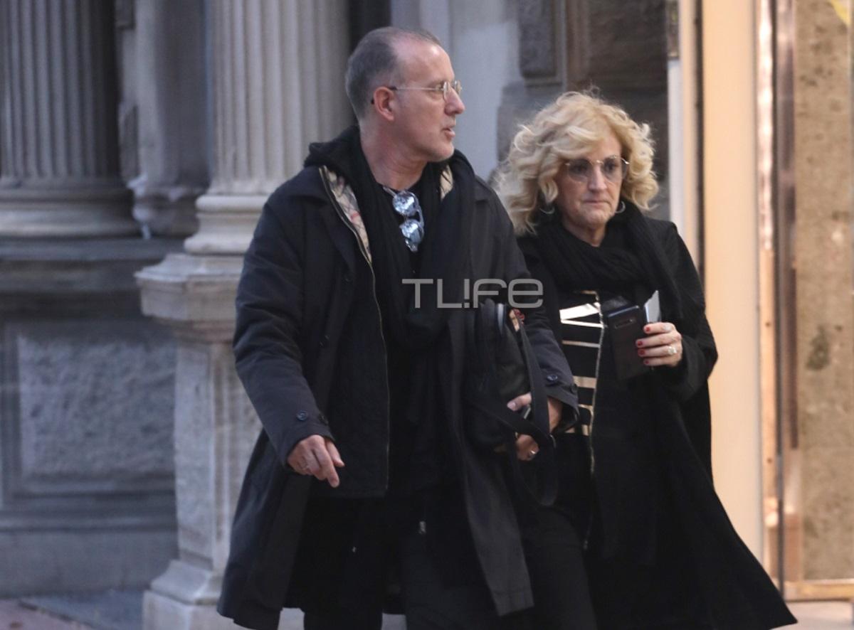 Ηρώ Μανέ: Βόλτα αγκαζέ με το σύζυγό της στα βόρεια προάστια [pics]