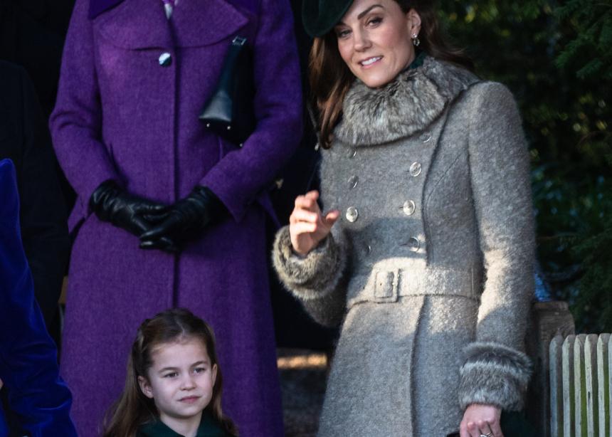 Η Κate Middleton και η μικρή πριγκίπισσα Charlotte με το ίδιο trend