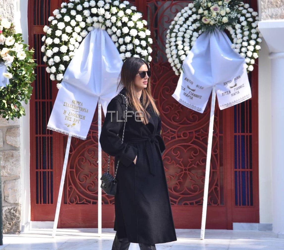 Χριστίνα Λυκιαρδοπούλου: Θλίψη στην κηδεία της δημοσιογράφου – Ποιοι βρέθηκαν στο τελευταίο αντίο