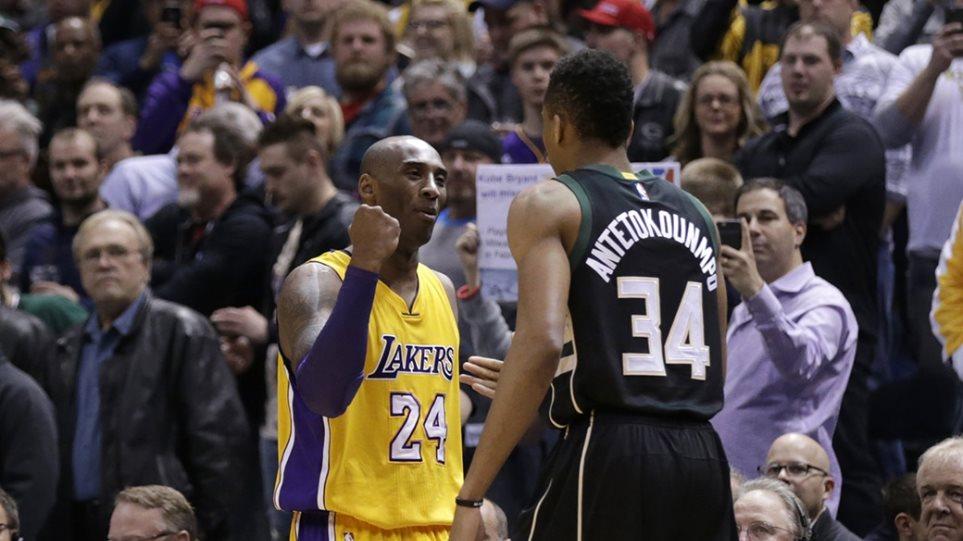 Ο Γιάννης Αντετοκούνμπο θρηνεί τον Kobe Bryant – Έκλεισε τους λογαριασμούς του στα social media | tlife.gr