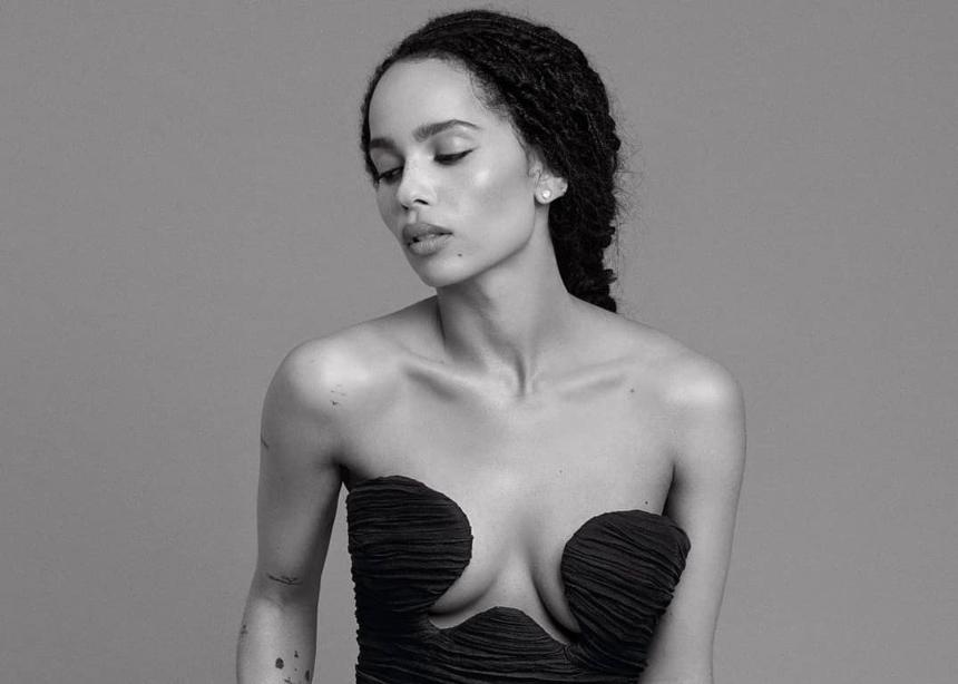 OMG! H Zoe Kravtiz είναι πολύ… sexy σε αυτό το editorial