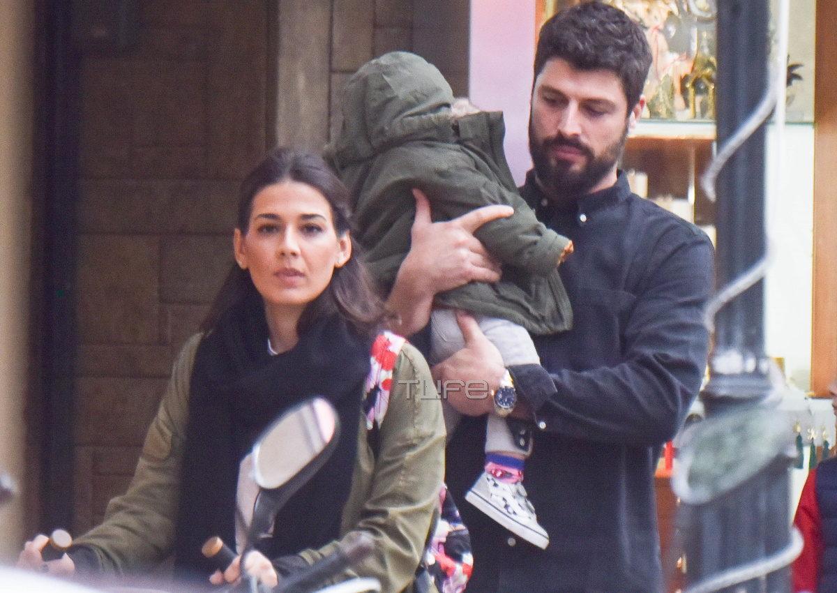 Γιώργης Λαμπαθάκης: Σπάνια εμφάνιση με την κούκλα σύζυγό του και την 2 ετών κόρη τους! [pics] | tlife.gr