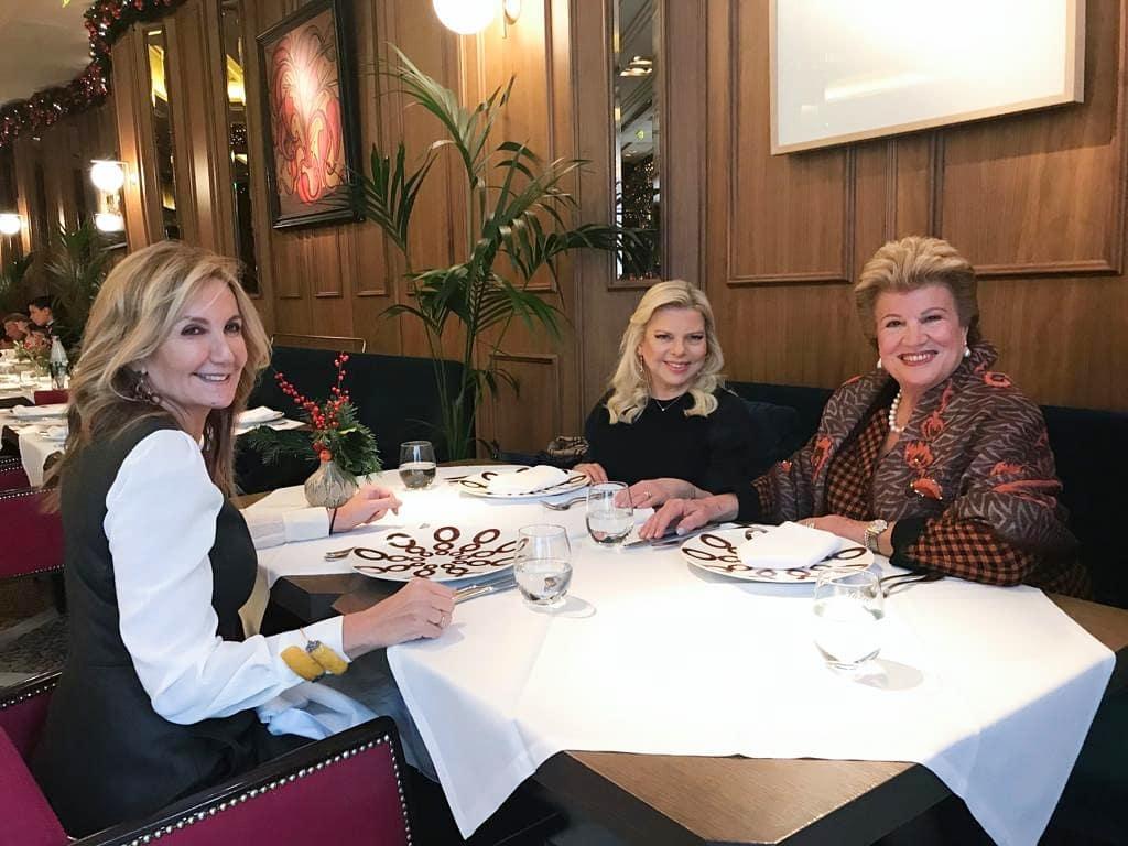 Mαρέβα Μητσοτάκη: Το γεύμα με τις πρώτες κυρίες της Κύπρου και του Ισραήλ! Φωτογραφίες