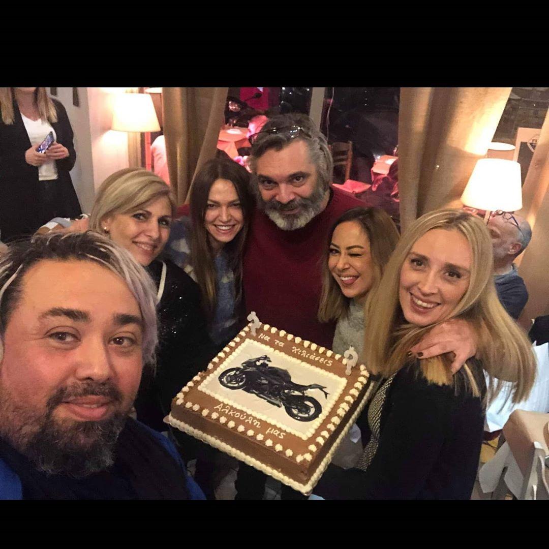 Άλκης Κούρκουλος: Γιόρτασε τα γενέθλιά του με Μαρία Σολωμού και Μελίνα Ασλανίδου! [pics]