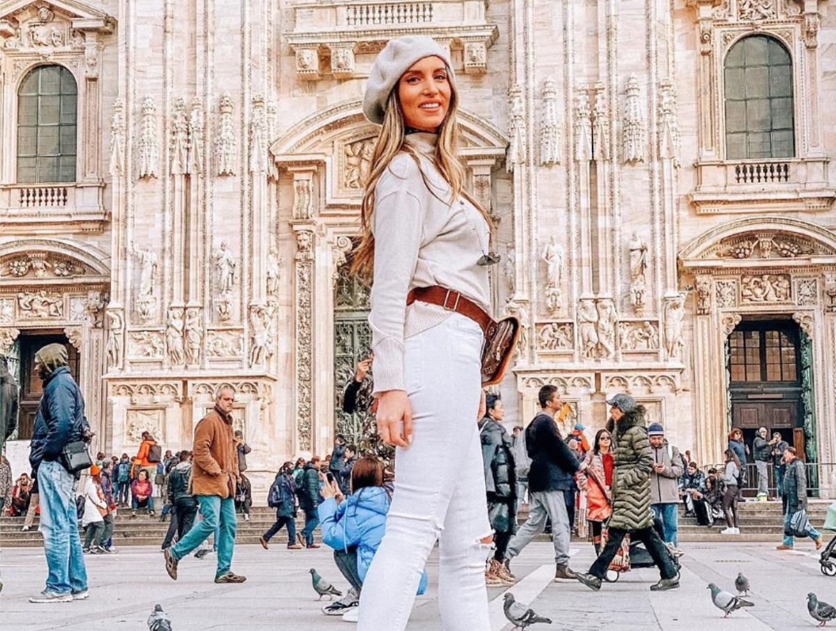 Αθηνά Οικονομάκου: Απόδραση στο Μιλάνο μαζί με τις φίλες της [pics,video]