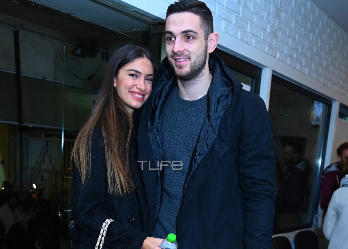 Άννα Πρέλεβιτς–Ιωάννης Παπαπέτρου: Ερωτευμένοι σε βραδινή έξοδο στο θέατρο! Φωτογραφίες | tlife.gr