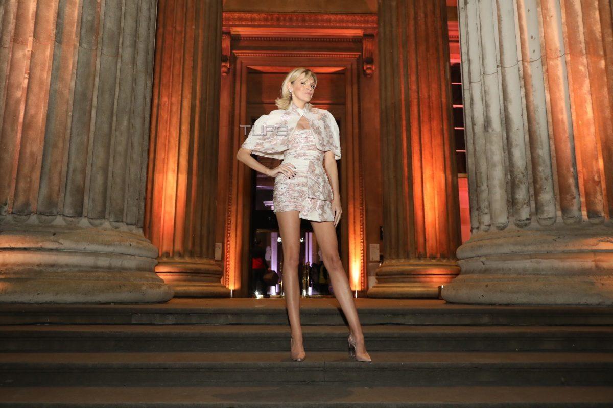 Σάσα Σταμάτη: Chic & glam, στο show της Celia Kritharioti στο Λονδίνο! Φωτογραφίες | tlife.gr