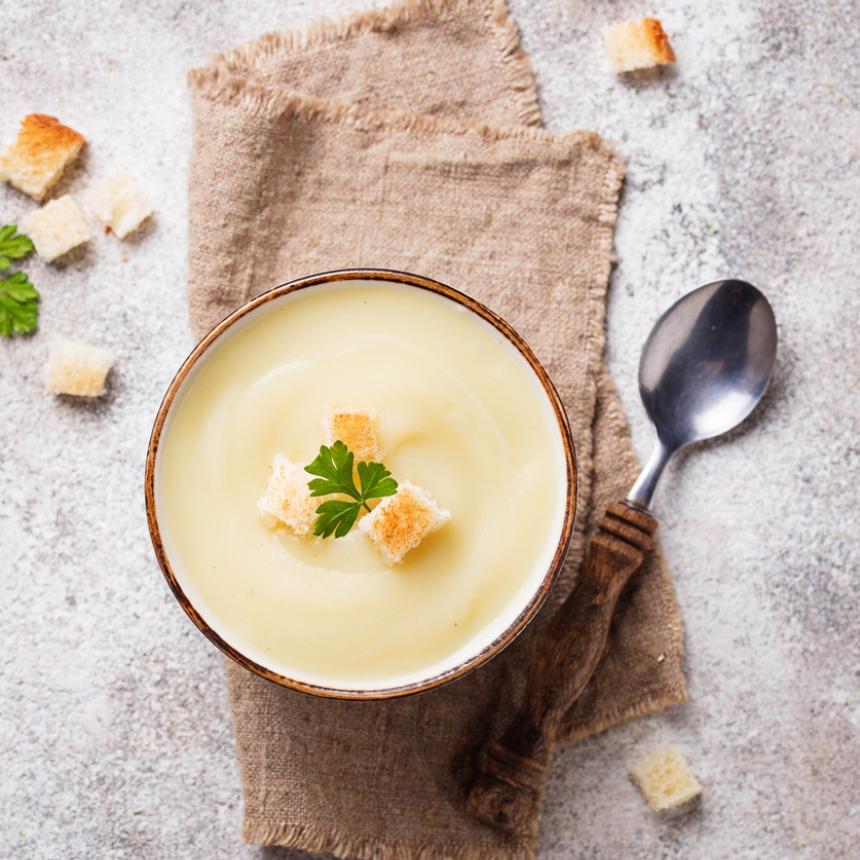 Σούπα βελουτέ με κουνουπίδι