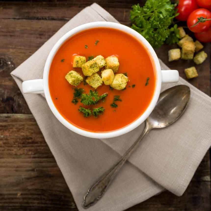 Γρήγορη ντοματόσουπα