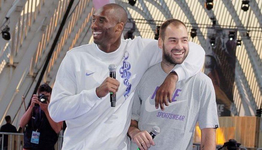To συγκινητικό αντίο του Βασίλη Σπανούλη στον Kobe Bryant   tlife.gr