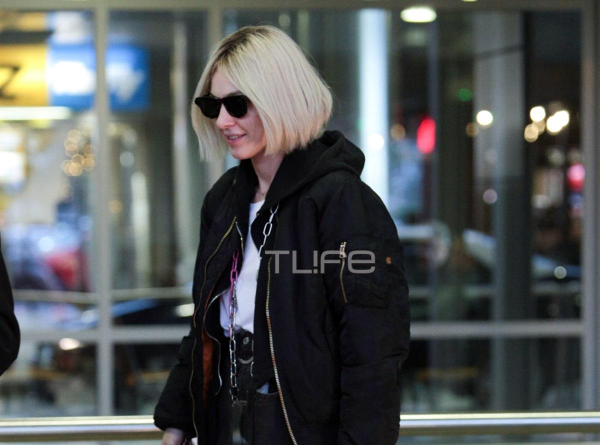 Τάμτα: Στο αεροδρόμιο της Θεσσαλονίκης με cool style! [pics]