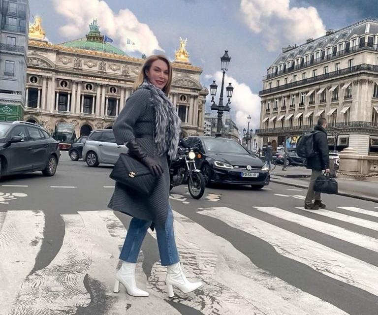 Τατιάνα Στεφανίδου: Αυτές είναι οι πιο στιλάτες εμφανίσεις της από το ταξίδι της στο Παρίσι! [pics]   tlife.gr