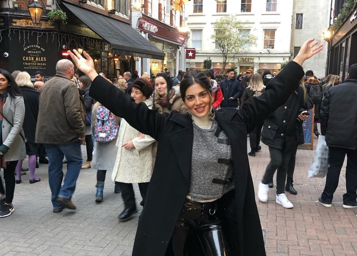 Σταματίνα Τσιμτσιλή: Ονειρεμένες διακοπές με την οικογένειά της στο Λονδίνο! [pics]