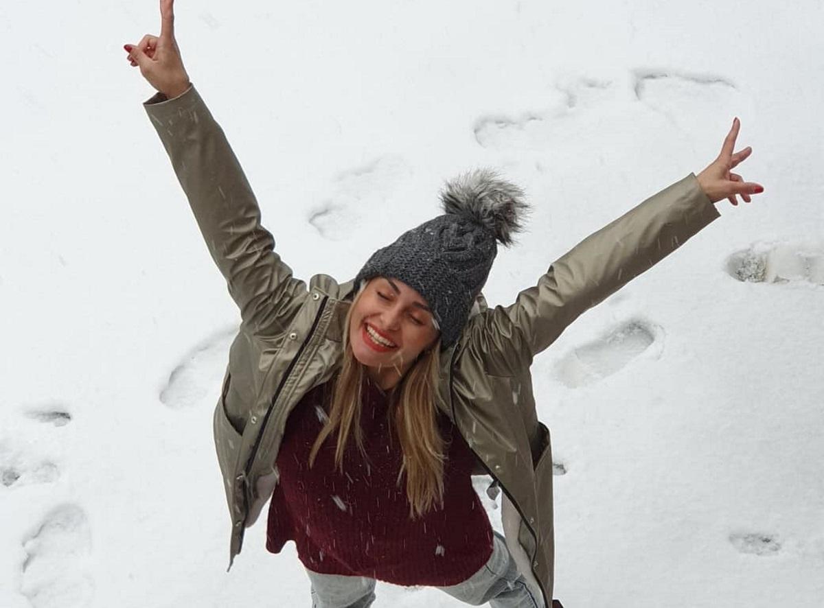 Βασιλική Μιλλούση: Απόδραση στα χιόνια με τον Λευτέρη Πετρούνιας! [pics]