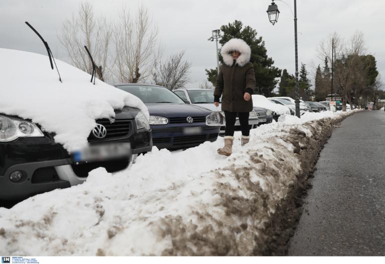 """Καιρός αύριο: """"Επιμένει"""" ο Ηφαιστίων με παγωνιά, χιόνια, βροχές και μποφόρ!"""