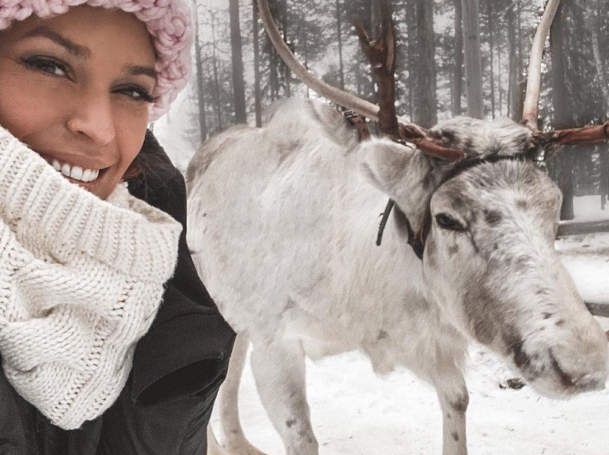 Σίσσυ Χρηστίδου: Το ταξίδι στη χιονισμένη Φιλανδία συνεχίζεται! Εντυπωσιακές εικόνες | tlife.gr