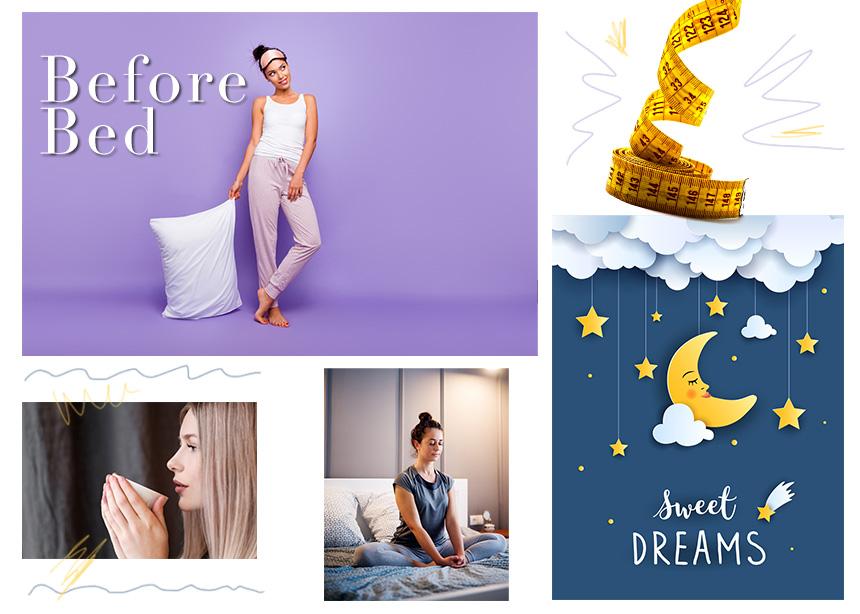 10 πράγματα που μπορείς να κάνεις πριν κοιμηθείς, προκειμένου να αδυνατίσεις | tlife.gr