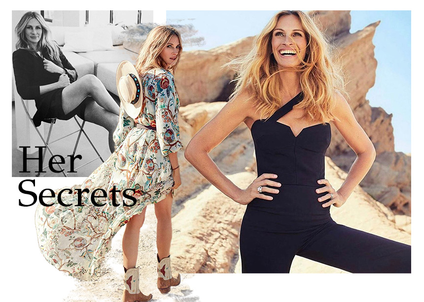 Julia Roberts: Τα μυστικά διατροφής και γυμναστικής που την κάνουν τόσο εντυπωσιακή!