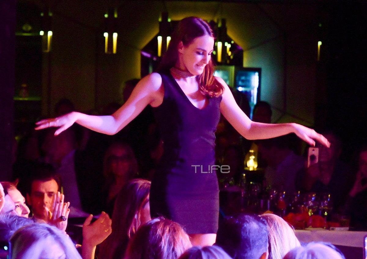 Μαρία Βοσκοπούλου: Διασκέδασε στην πρεμιέρα του πατέρα της και εντυπωσίασε με το τσιφτετέλι της! [pics] | tlife.gr