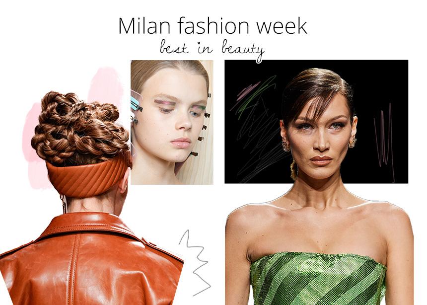 Οι πιο αγαπημένες μας beauty στιγμές από την εβδομάδα μόδας του Μιλάνου!