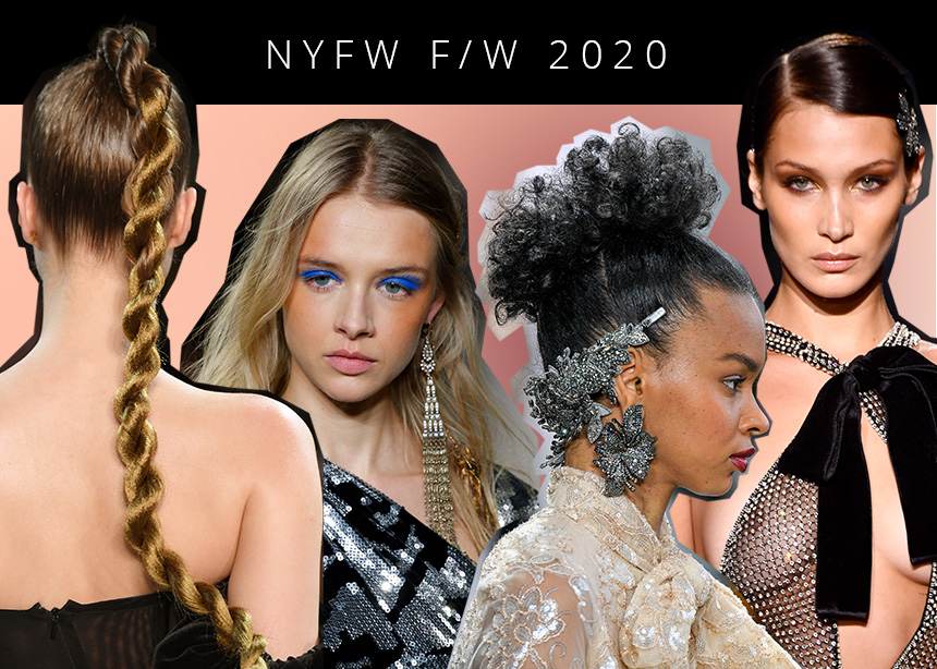 NYFW Fall/Winter 2020: Τα μακιγιάζ και τα μαλλιά που είδαμε μέχρι στιγμής! | tlife.gr