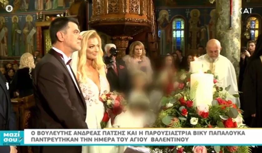 Μαζί σου Σαββατοκύριακο: Ο παραμυθένιος γάμος και το γαμήλιο γλέντι του Ανδρέα Πάτση και της Βίκυς Παπαλουκά! Video | tlife.gr