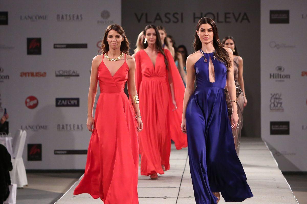 Ιωάννα Μπέλλα – Μέγκυ Ντρίο: Σε ένα διαφορετικό fashion show με δημιουργίες Βλάση Χολέβα! [pics] | tlife.gr