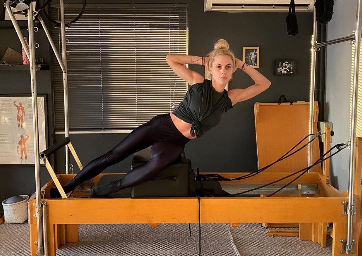 Ντορέττα Παπαδημητρίου: Ξεκίνησε την εβδομάδα με σκληρή προπόνηση pilates! [video] | tlife.gr
