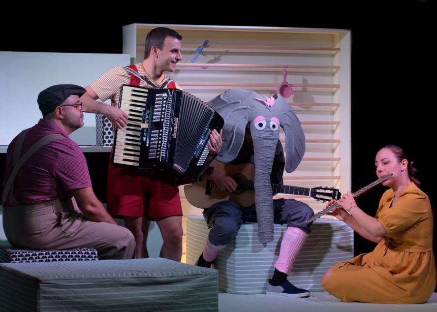 Στο Μέγαρο Μουσικής Αθηνών τα μικρά παιδιά δημιουργούν τον ελέφαντα μέσα στο δωμάτιο! | tlife.gr